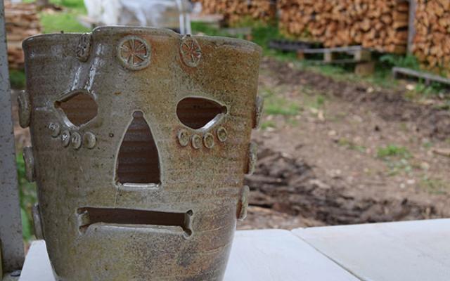 Anagama Kiln pottery