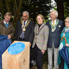 Blue plaque unveiled at Wytham Woods